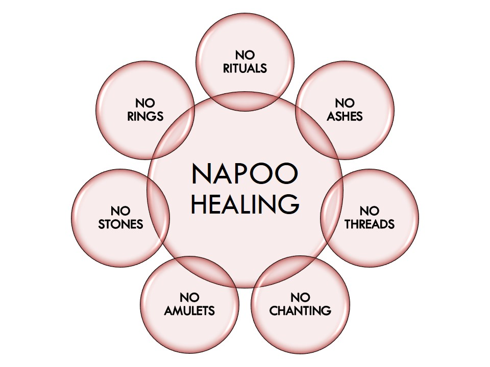 Napoo paranormal healing is the new version of ancient sciences.